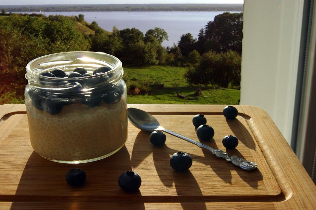 Przepis na pudding z tapioki