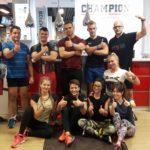 uczestnicy kursu na trenera personalnego w Toruniu